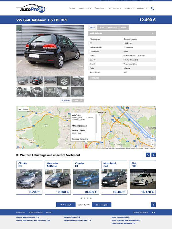 Fahrzeug Detail 3 Kompakt (mit tabs)