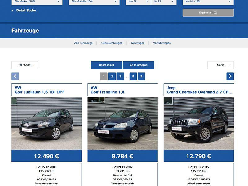 Fahrzeug-Grid 2 (ohne Sidebar)